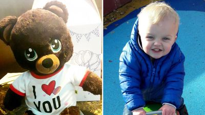 Family devastated to lose teddy that plays baby son's voice