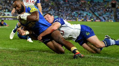 NRL 2017: Mitchell Moses field goal gives Parramatta Eels win over Canterbury Bulldogs