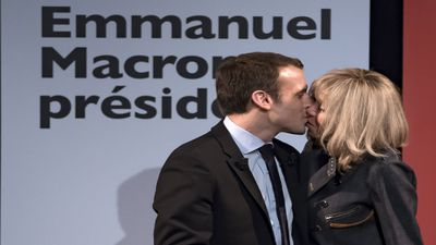 Presidential candidate's ex-school-teacher wife hoping to become France's First Lady