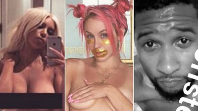 Kim Kardashian and Imogen Anthony drop topless selfies, leading the most naked stars on Instagram