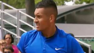 Bad boy Kyrgios turns good sport
