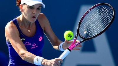 No.3 seed Radwanska upset at Aust Open