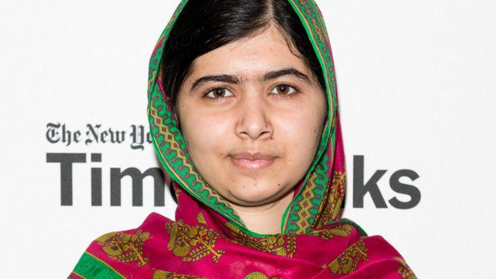 Pakistani schoolgirl and activist Malala Yousafzai. (Getty)