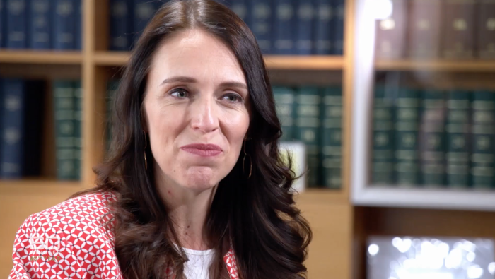 Australians apologise for 'creepy' interview with Jacinda Ardern