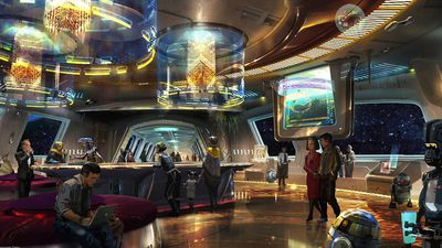 First pictures: Inside Disney's fully immersive Star Wars hotel
