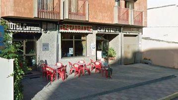 Hotel Carmen restaurant in Bembibre in northern Spain