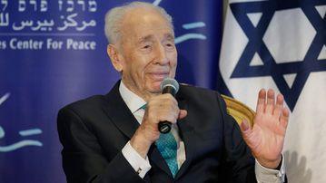 Shimon Peres. (AAP)