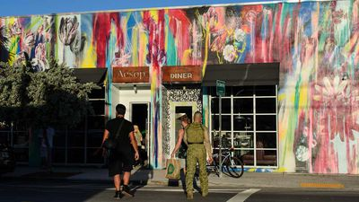 Struggling manufacturing neighbourhood's rainbow makeover is a must visit