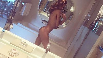 Nicole Trunfio takes a 'home alone' nude selfie...and more of Instagram's most naked celebs