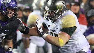 Blake Muir during his time at Baylor University. (Getty)