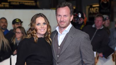 Geri Horner names baby boy after late friend George Michael…and a Shakespearean family