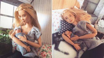 "Betty Strachan's ""Mamas Worldwide Barbie"". (Etsy/Betty Strachan)"