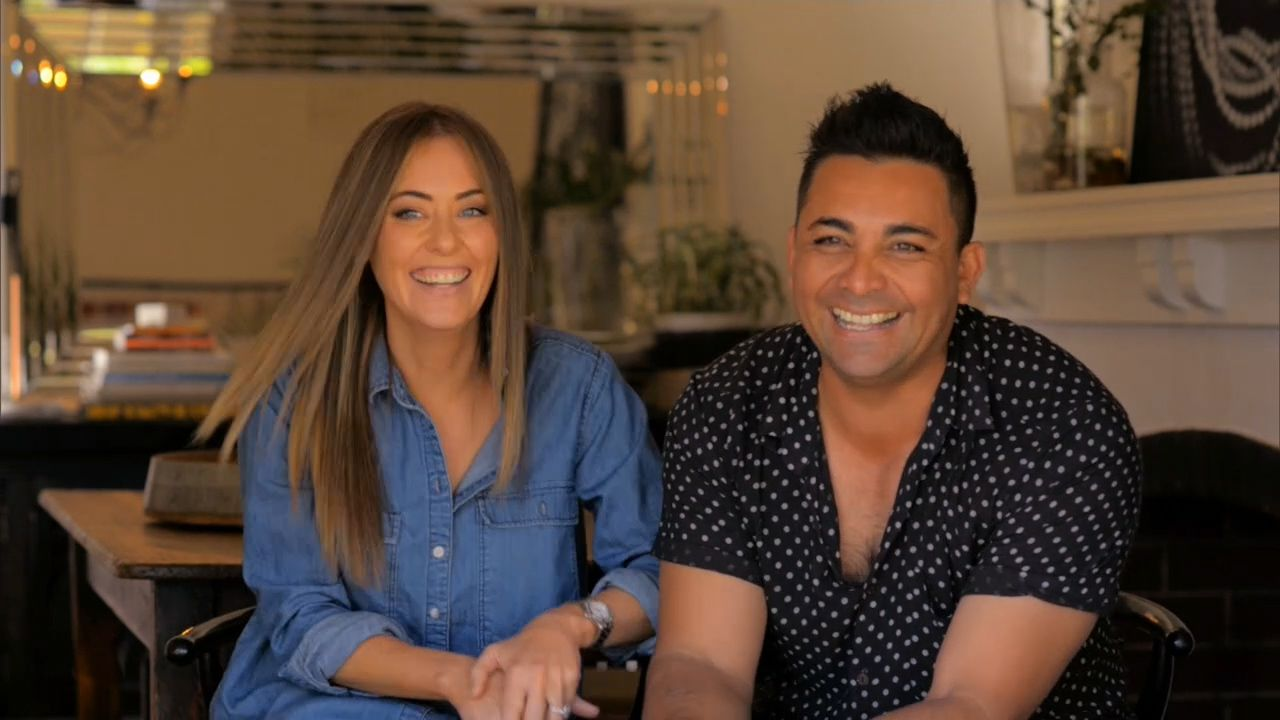 Ronnie and Georgia: 'We're addicted to renovating houses'