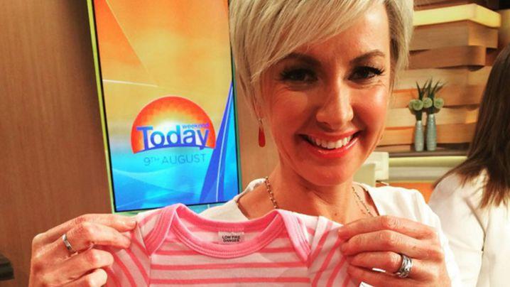 Deborah Knight has welcomed a baby girl.