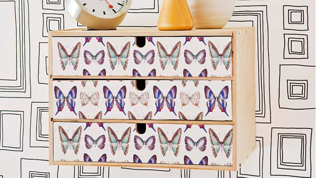 Decorated drawers