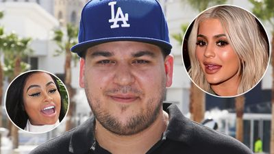 Rob Kardashian tweets Kylie Jenner's actual phone number, defends Blac Chyna in major Twitter rant