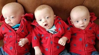 Mum of triplets finds two dead in suspected cot deaths