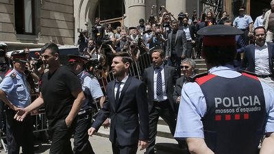Barcelona and Argentina star Lionel Messi loses appeal over tax fraud, but should avoid jail