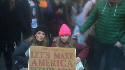 Blake Lively explains why she joined anti-Trump movement: 'I marched for my daughters'