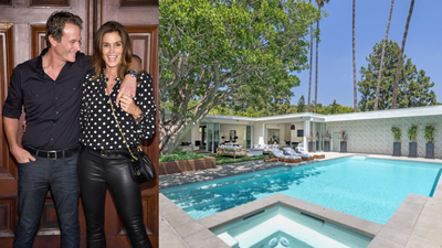 Inside Cindy Crawford and Rande Gerber's new $12m single-level Beverly Hills home