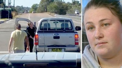 Woman punched in shocking road rage attack speaks out