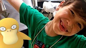 Lenore Koppelman says Pokemon Go has helped her son to socialise. (Facebook)