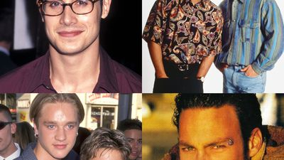 Your fave '90s teen heartthrobs: then and now