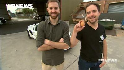 This is how a group of Melbourne friends traded an egg for a sports car