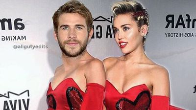 Miley Cyrus puts Liam Hemsworth in a dress for Valentine's Day...and other Celeb love posts!