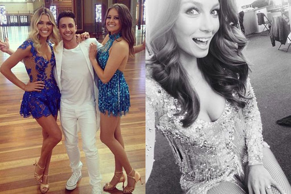 Pop stars models and footy players Dancing With The Stars 2014