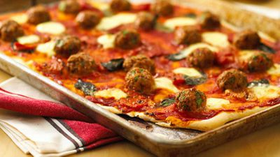 Perfect pizza recipes with the lot