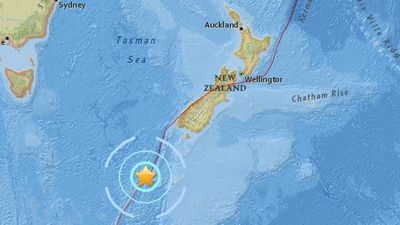 New Zealand rocked by two earthquakes less than an hour apart