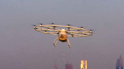 Dubai to trial public 'flying taxi' service