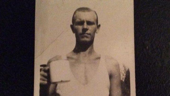 Tom Bryan circa World War II. (Facebook/Tony Budgett)
