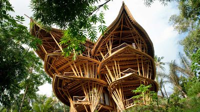 IBUKU, the Balinese bamboo village for those looking for an authentic experience