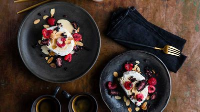 Perfect fluffy pavlova and meringue recipes