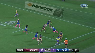Brilliant Broncos end Dogs' finals hopes