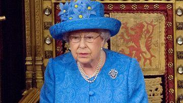 Queen Elizabeth II opens parliament. (AAP)