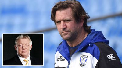 Channel Nine's Phil Could says don't write off Des Hasler and the Bulldogs