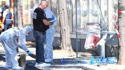 One dead after car crashes into bus shelters in French city of Marseille