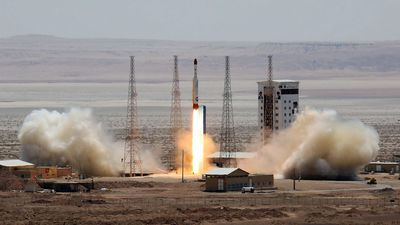 Iran 'successfully' launches rocket into space