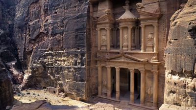 The lost gardens of Petra have been unearthed after 2000 years