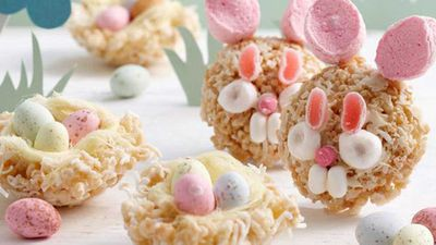 Super cute Easter treats to share