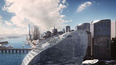 This is what Darling Harbour will look like in 2019