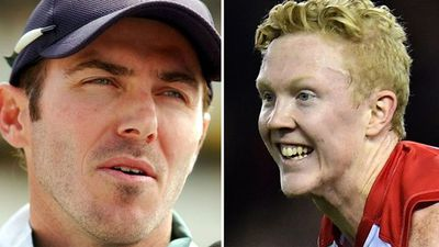 Former cricketer Damien Martyn and Clayton Oliver clash over AFL dive