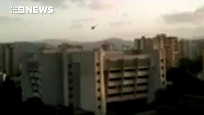 'Terrorist' flying helicopter tries to bomb Venezuelan Supreme Court