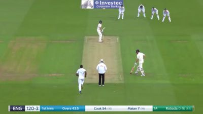 Cricket Kagiso Rabada ruins Dawid Malan's Test debut, shades of Nic Maddinson's first Test