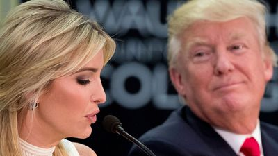 Ivanka Trump: 'I don't think politics is in my future'