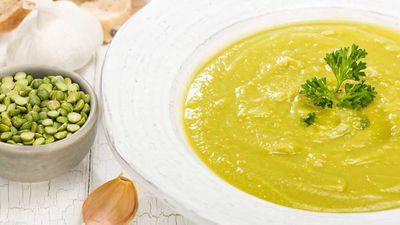 Susie Burrell's split pea soup