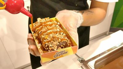 Step inside Sydney's ridiculous Golden Gaytime pop-up shop